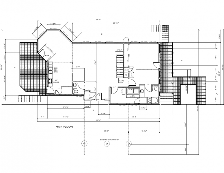 Image of the Upper floor plan showing outside decks